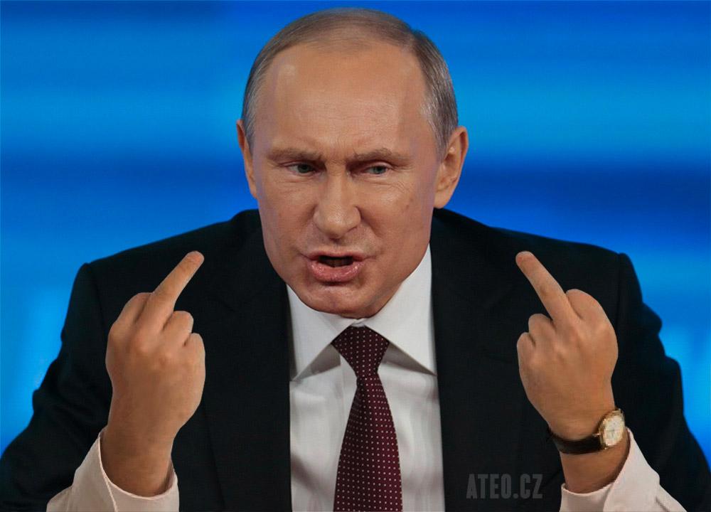 Ruský prezident Vladimir Putin (Ateo.cz)