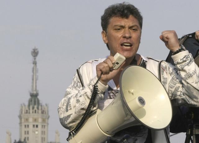 Ruský novinář Boris Němcov (ČTK)