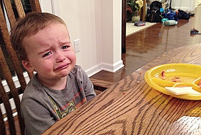 týrané dítě (SF)