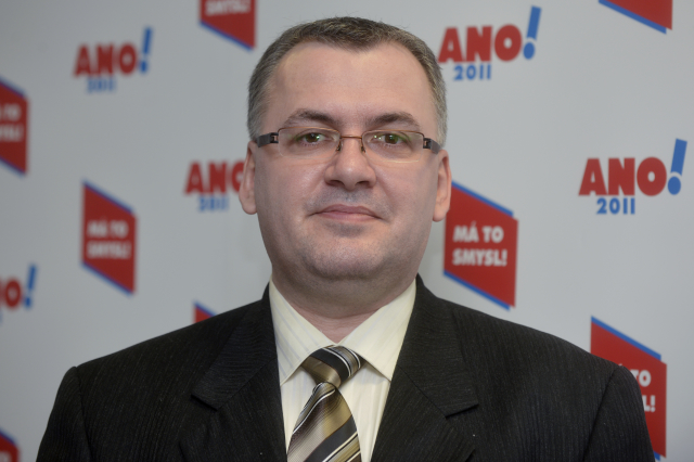 Peter Harvánek odešel z postu místopředsedy ANO, když pochopil Babišovy úmysly (ČTK)