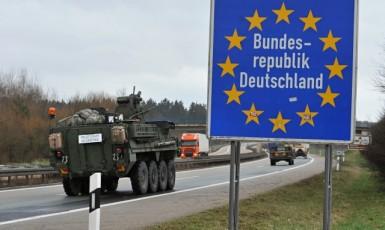 Spojenecký konvoj ve středu opustil Českou republiku (ČTK)