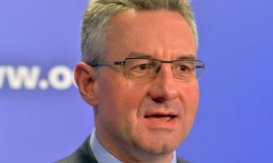 """Europoslanec a předseda neoficiálního """"Spolku přátelství EU a Číny"""" Jan Zahradil  (ČTK)"""