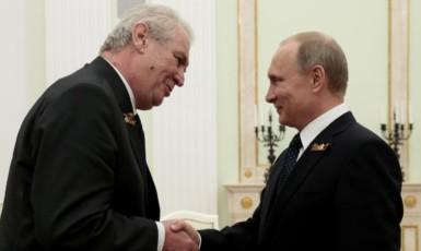 Miloš Zeman a Vladimir Putin (ceskatelevize.cz)