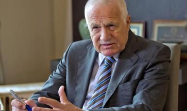 Bývalý prezident Václav Klaus (ČTK)