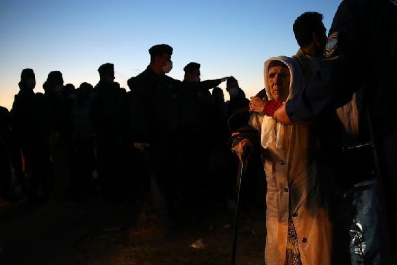 Uprchlíci na ostrově Lesbos, Řecko (Jan Šibík)