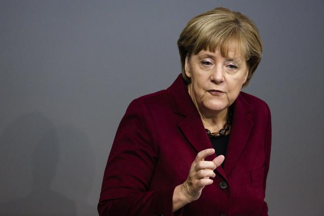 Spolková kancléřka Angela Merkelová (ČTK)