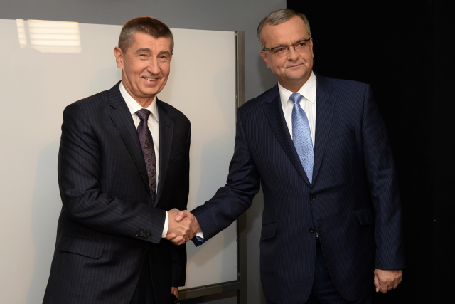Andrej Babiš a Miroslav Kalousek (ČTK)