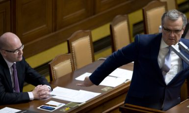 Miroslava Kalouska neúčast ministrů na jednání o rozpočtu rozčílila  (ČTK)
