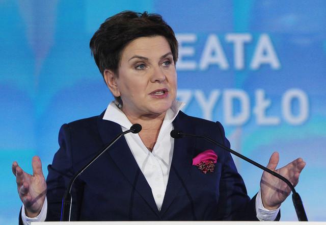 Beata Szydlová (ČTK)