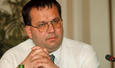 Ministr průmyslu a obchodu Jan Mládek, 1999 (ČTK)