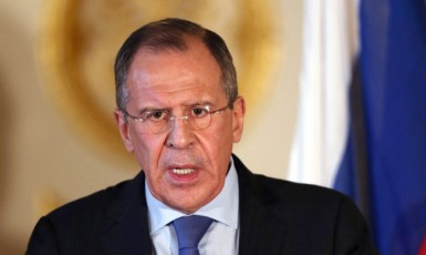 Ruský ministr zahraničí Sergej Lavrov (reprofoto ČT)