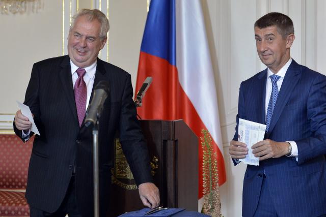 Miloš Zeman a Andrej Babiš - ničitelé české ústavnosti (ČTK)