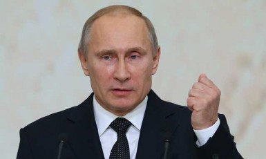 Ruský prezident Vladimir Putin (ČTK)