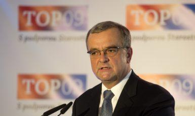 Předseda TOP 09 Miroslav Kalousek  (ČTK)
