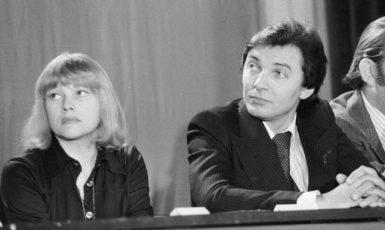 Eva Pilarová a Karel Gott (ČTK)