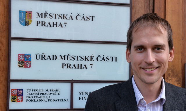 Jan Čižinský, starosta Prahy 7  (ČTK)