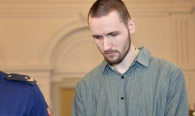 Odsouzený Jan Silovský (ČTK)