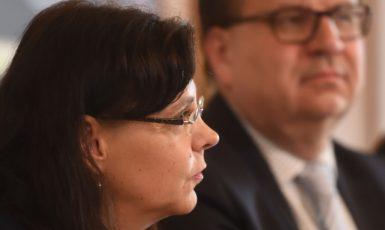 Michaela Marksová a Jan Mládek (ČTK)