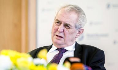 Prezident Miloš Zeman  (ČTK)