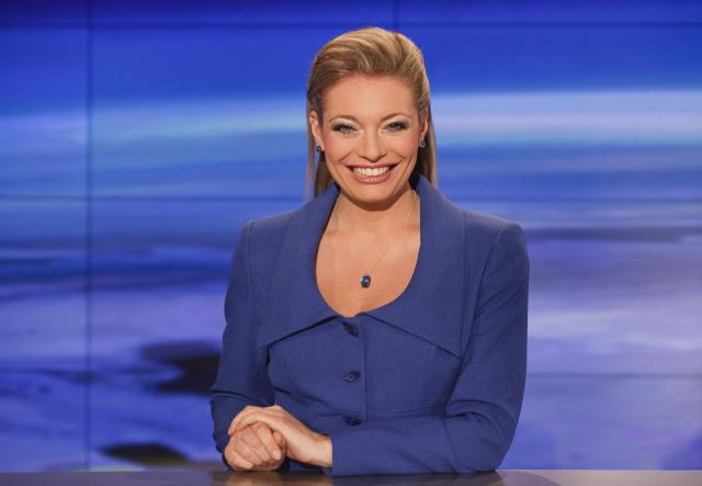 Lucie Borhyová, moderátorka TV NOVA (ČTK)