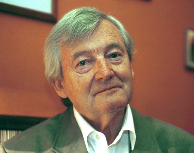 Spisovatel Alexandr Kliment (ČTK / Volfík René)