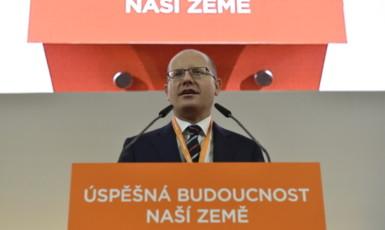 Bohuslav Sobotka na 39. sjezdu ČSSD (ČTK)