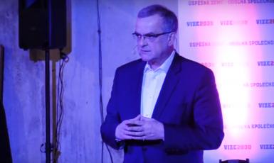 Miroslav Kalousek na představení Vize 2030 (FORUM 24)