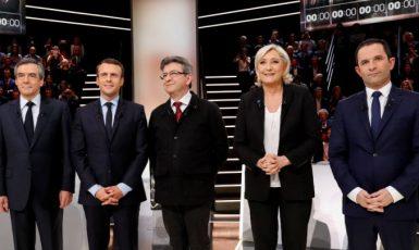 Kandidáti na francouzského prezidenta. (ČTK)