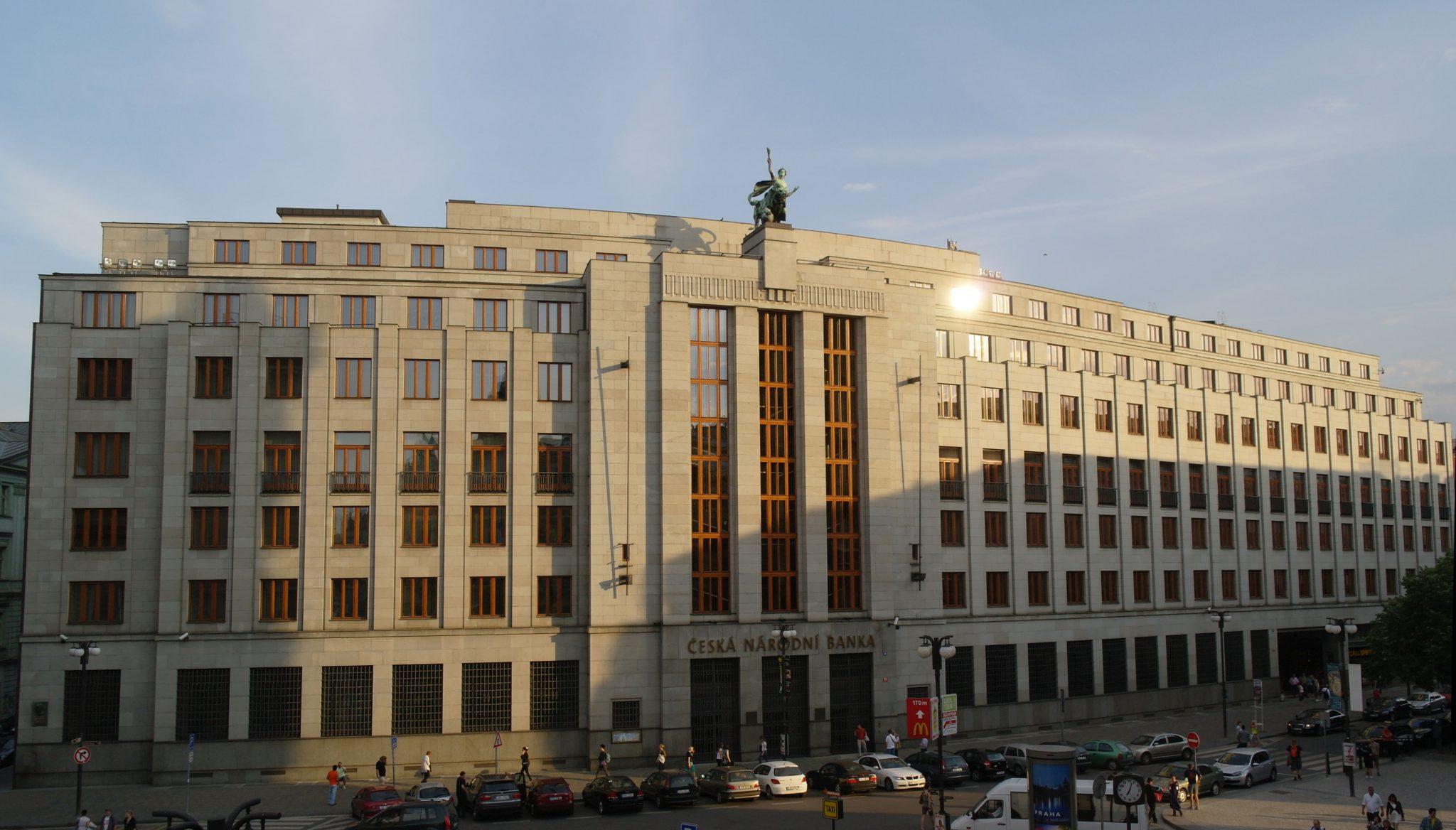 Sídlo České národní banky (ČNB) (Wikimedia Commons)