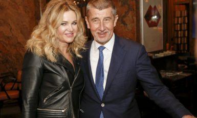 Monika a Andrej Babišovi (ČTK)
