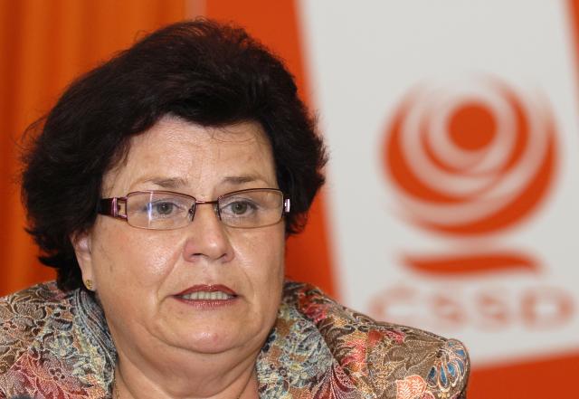 Bývalá ministryně spravedlnosti Marie Benešová se vrací. (ČTK)