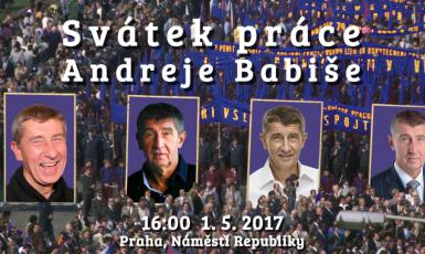 FB Svátku práce Andreje Babiše