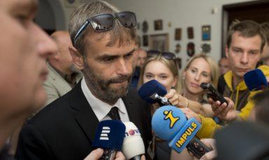 Bývalý ředitel Útvaru pro odhalování organizovaného zločinu  (ÚOOZ) Robert Šlachta (ČTK)