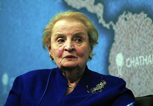 Madeleine Albright (Wikimedia Commons)
