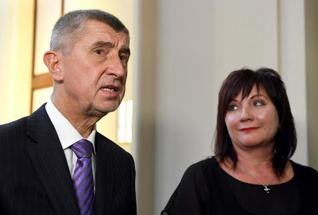 Premiér Andrej Babiš a jeho ministryně financí Alena Schillerová (ČTK)