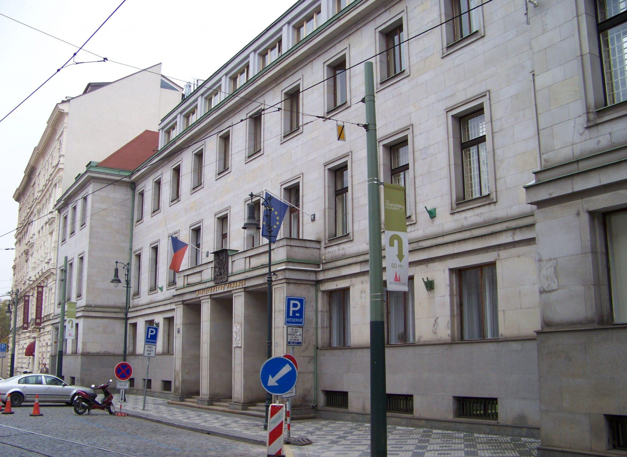 Ministerstvo financí (Wikimedia Commons)