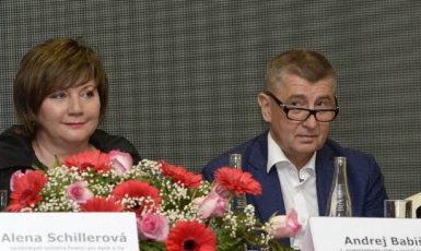 Alena Schillerová a Andrej Babiš (ČTK)