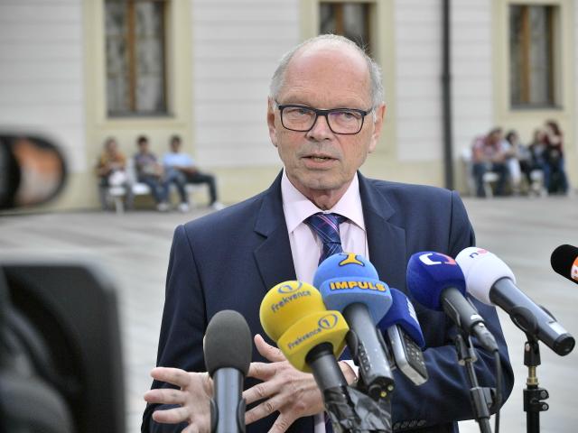 Ivan Pilný, ministr financí (ČTK)