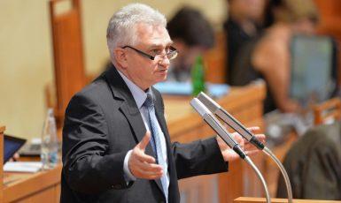 Předseda SenMilan Štěch v Senátu (ČTK)