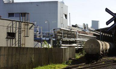 Petrochemická společnost Oleo Chemical v Liberci  (ČTK)