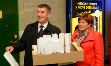 Andrej Babiš a Zuzana Baudyšová (FB ANO)