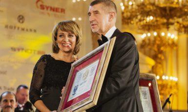 Bývalá pražská primátorka Adriana Krnáčová a premiér Andrej Babiš (ČTK)