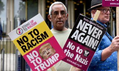 Protesty proti rasismu (ČTK)