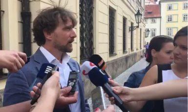 Novinář Českého rozhlasu Janek Kroupa (FORUM 24)