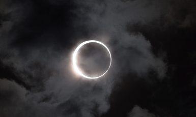 Zatmění slunce v USA (NASA)