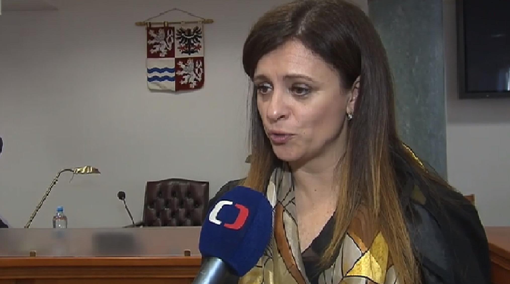 Středočeská hejtmanka Jaroslava Pokorná Jermanová  (ČT)