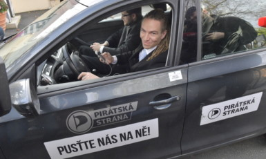 Předseda Pirátů Ivan Bartoš  (ČTK)