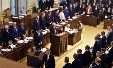 Schůze Poslanecké sněmovny (ČTK)