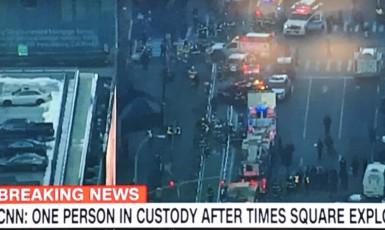 Exploze v New Yorku 11. 12. 2017 (F24)