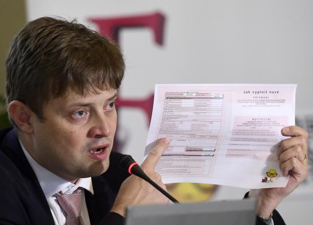 Generální ředitel Finanční správy ČR Martin Janeček  (ČTK)